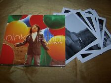 PINK MARTINI : GET HAPPY FOLD OUT DIGIPAK CD ALBUM + PRINTS 2013 HEINZ RECORDS