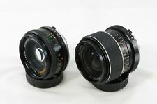 Lot 2 Lens 28mm F2.8 50mm F2.0 for SONY NEX e-mount MC adapted bundle TESTED