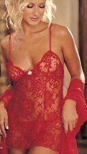 Completi intimi misti da donna rosse con perizoma