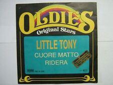 LITTLE TONY 45 TOURS GERMANY RIDERA