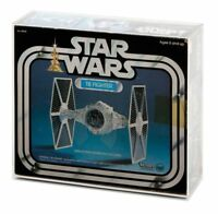 GW Acrylic Display CASE (only) for Boxed Vintage Kenner Tie Fighter (AVC-013)