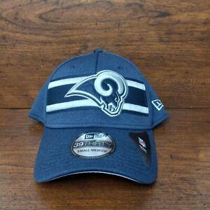 New Los Angeles Rams New Era Hat 39Thirty NFL On Field Cap Size Small Medium
