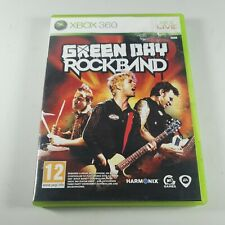 Green Day Rockband Xbox 360 Music Rare Video Game Manual PAL