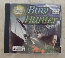 Bow Hunter CD-ROM Windows with Instructions Hunt 4 Species & Tournament Archery