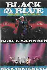 "Black Sabbath & Blue Oyster Cult, Black and Blue DVD – ""Live, Hot And Heavy"""