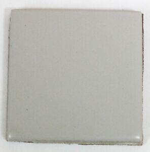 Tile 2x2 Gray Matte Retired Color Vintage Mosaic Border Ceramic 661-554 1 Pc