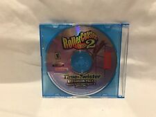 Roller Coaster Tycoon 2: Time Twister Expansion Pack (PC, 2003) Disk Only