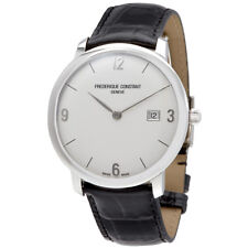 Frederique Constant Slimline Automatic Mens Leather Watch FC-306A4S6