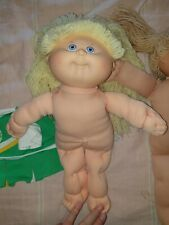 Two Vintage Cabbage Patch Dolls