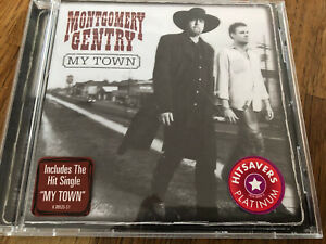 """US Country Music CD Montgomery Gentry """" My Town """" TOP Nashville"""