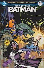 BATMAN RECIT COMPLET REBIRTH N°1 DC Comics URBAN juin 2017