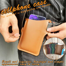 Fashion Leather Waist Belt Loop Cellphone Phone Protection Case Bag Holster NEW