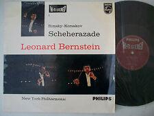 Rimsky-Korsakov Scheherazade New York Philharmonic Bernstein Hi-Fi Stereo 140 F