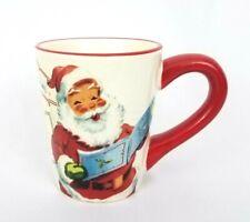 Williams Sonoma Santa Christmas Coffee Mug