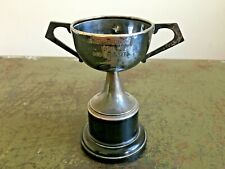 More details for vintage epns engraved eastchurch 1951 best hunter trophy cup equestrian award