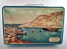 Elkes biscuit tin Sailing of the Sealers St John's Newfoundland Canada Maunder