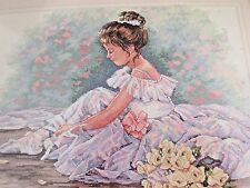 DIMENSIONS Gold Collection Sweet Ballerina Counted Cross Stitch kit #35245 NEW