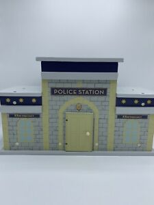 Pottery Barn Kids Police Station 53rd Precinct * Wood Toy *