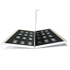 24 Slots Aluminum Micro SD TF Memory Card Storage Box Protecter Case Holder New