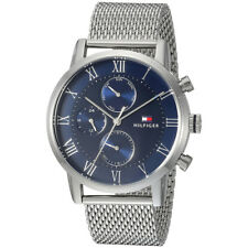 Tommy Hilfiger Analog Business Kane Silver Mens 1791398