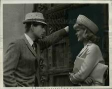 """1969 Press Photo Connie Stevens, """"Two on a Guillotine"""" - orp28804"""