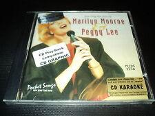 "CD NEUF ""KAROAKE : YOU SING THE HITS OF MARILYN MONROE & PEGGY LEE"""