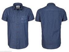 Markenlose figurbetonte Herren-Freizeithemden aus Baumwolle