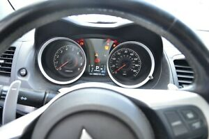 10-15 Mitsubishi Lancer Ralliart Instrument Gauge Cluster Speedo Turbo Oem  CY4A