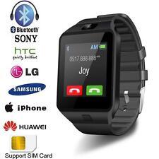 Noir DZ09 Bluetooth Montre Téléphone Intelligent Smart Watch Pour Android iPhone