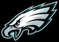 Philadelphia Eagles Logo Vinyl Decal Sticker - You Pick the Size
