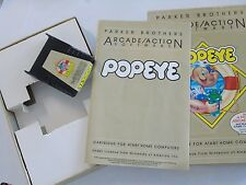 Complete Atari Computer 400 800 XL XE Popeye Video Game System