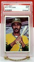 1975 SSPC #496 Billy Williams PSA 9 MINT Hall of Famer 1987