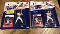 2x 1988 STARTING LINEUP SLU MLB WADE BOGGS BOSTON RED SOX PROMO SEALED