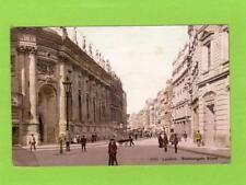 London Bishopsgate Street unused pc Photochrom  Ref D28