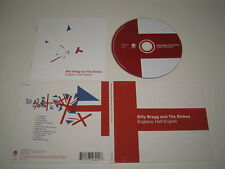 BILLY BRAGG & The Blokes/England Half English (Cook Vinyl / Cook CD 222) Album