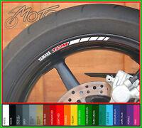 8 x YAMAHA TDM Wheel Rim Stickers Decals - Many Colours TDM900 TDM850 900 850 A