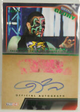 2013 TNA Impact Wrestling Glory Jeff Hardy SP Dual Face Paint Autograph # 3 / 5