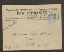 """REIMS (51) USINE de FLANELLE PERMEABLE & OXFORD REMOIS """"Henri PRIEUR"""" en 1930"""