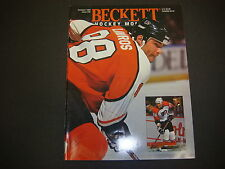 Beckett Hockey Monthly Magazine October 1993 Eric Lindros Pieree Turgeon  M2181