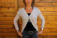 gilet fin soie coton MARITHE FRANCOIS GIRBAUD T 38 neuf étiquette coll. 2012-13