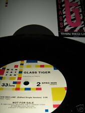 "GLASS TIGER Thin Red Line 12"" Single Promo MINT! RARE!"