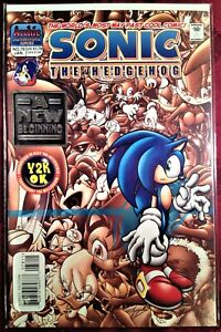 SIR SONIC The HEDGEHOG Comic Book #78 January 2000 TALES GREAT WAR Bag Brd MINT