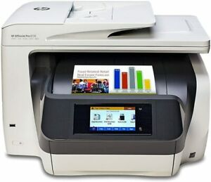 HP OFFICEJET 8730 Wireless All-In-One Color Printer with Duplex Printing