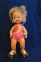 Vintage Mattel Baby Skates Doll