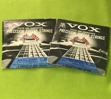 2 Vintage Vox guitar strings Made In England New Old Stock NOS For Phantom Lynx