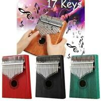 17Keys Holz Kalimba Finger Daumenklavier Bildung Musikinstrument-Spielzeug- L8Q4