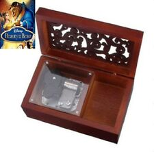 Wooden with Open Gothic Pattern Lid Jewelry :Beauty And The Beast Theme Song