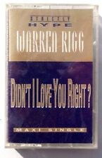 Vintage SEALED Warren Rigg DIDN'T I LOVE YOU RIGHT Strictly Hype US 1993