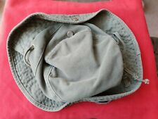 POST WW2 ARMY GREEN COTTON HAT