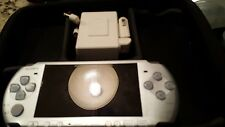 Sony PSP 3001 Slim Mystic Silver Handheld System ( NO BATTERY)